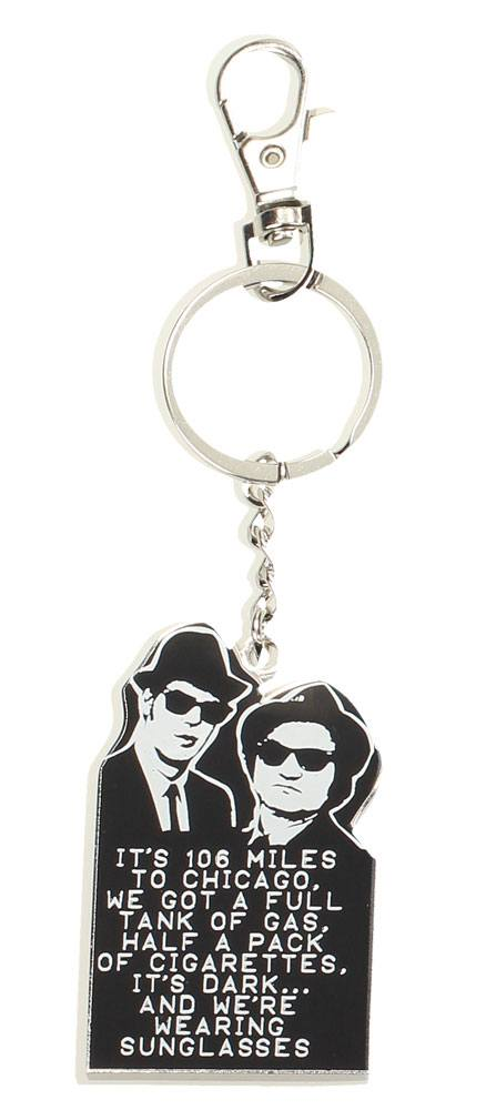 Blues Brothers Metal Keychain 106 Miles 7 cm