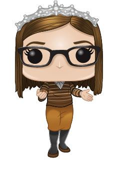 The Big Bang Theory POP! TV Vinyl Figure Amy 9 cm