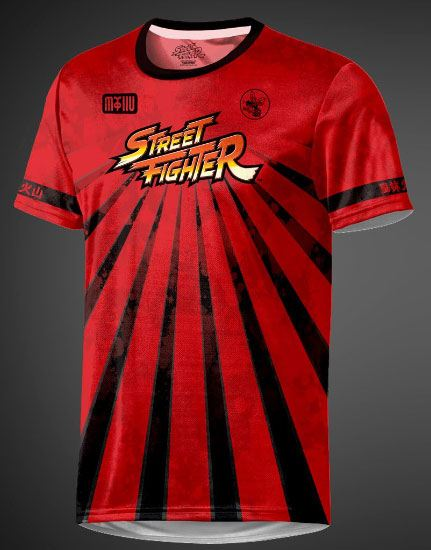 Street Fighter eSport Gear Functional T-Shirt Sunray Size M
