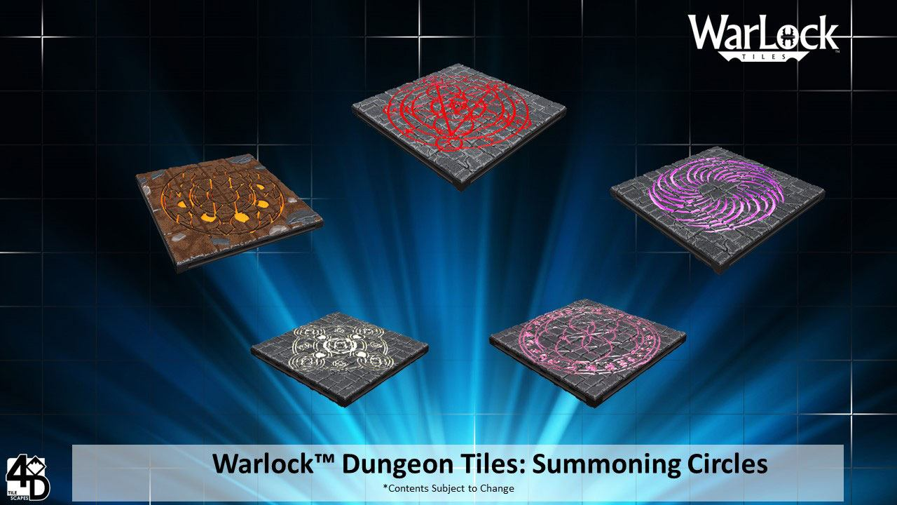 WarLock™ Tiles: Summoning Circles