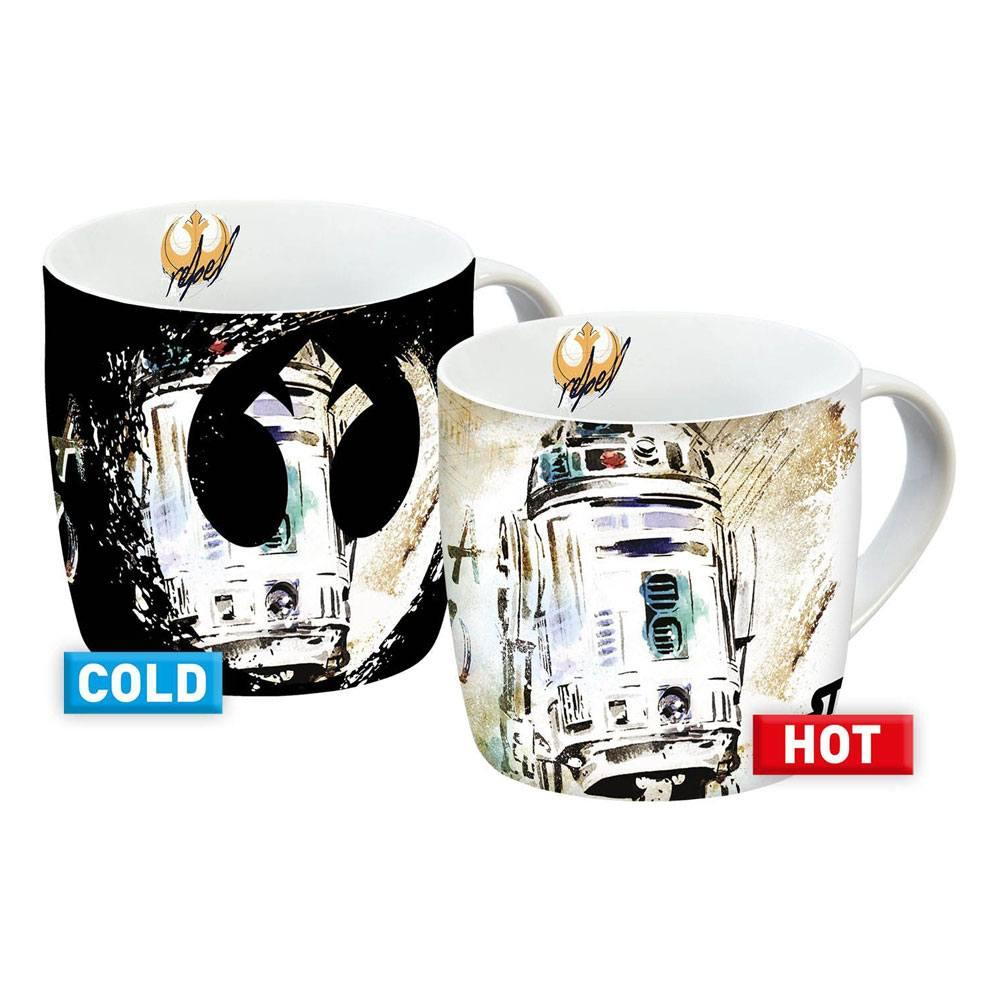 Star Wars IX Heat Change Mugs R2-D2 Case (6)