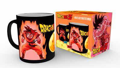 Dragonball Z Heat Change Mug Super Saiyan