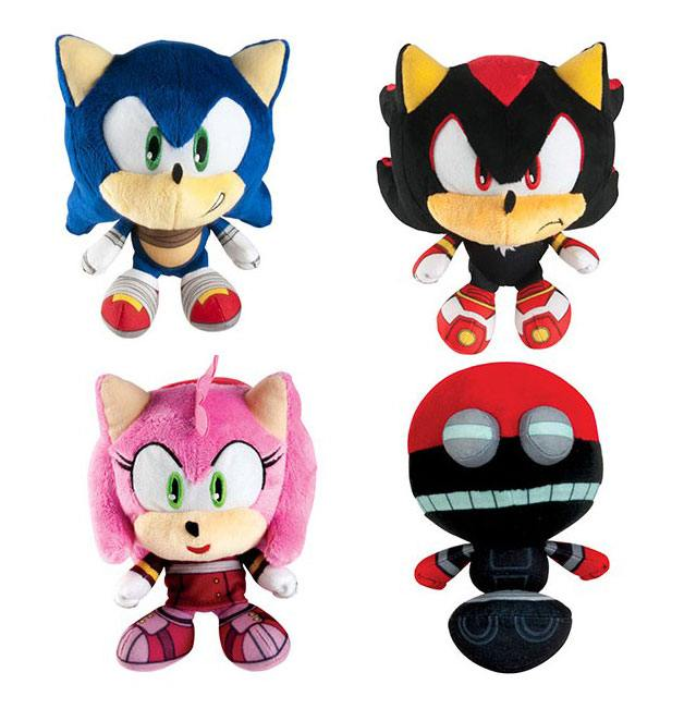 Sonic Boom Big Headz Plush Figures 15 cm Assortment (6)