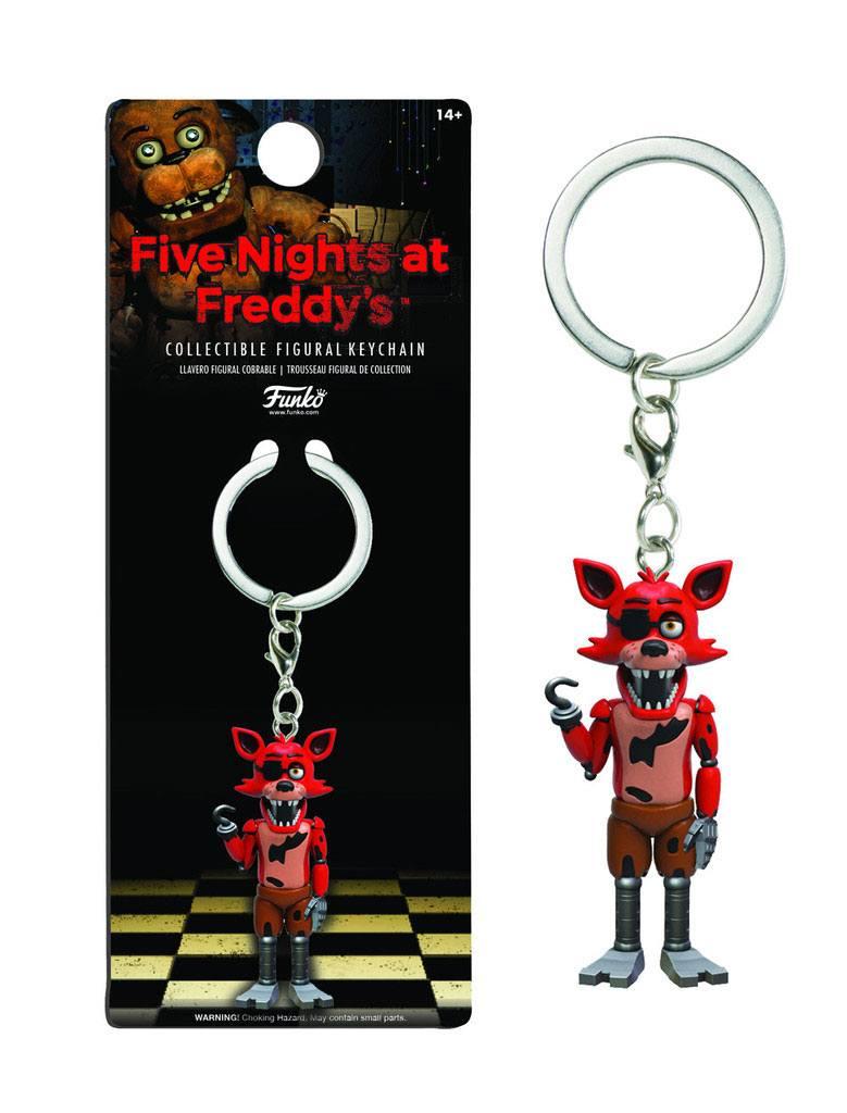 Five Nights at Freddy's Vinyl Keychain Foxy 7 cm