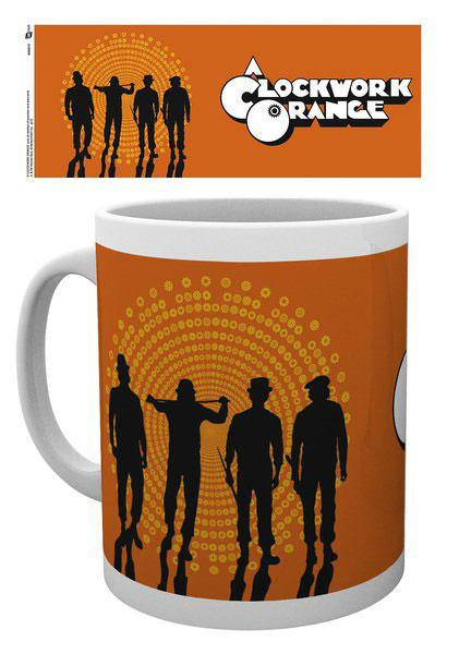 A Clockwork Orange Mug Silhouettes