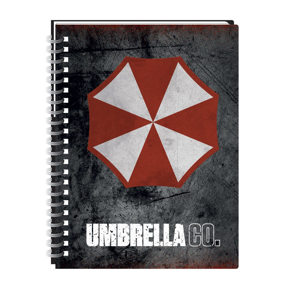 Resident Evil A5 Notebook Umbrella Corp