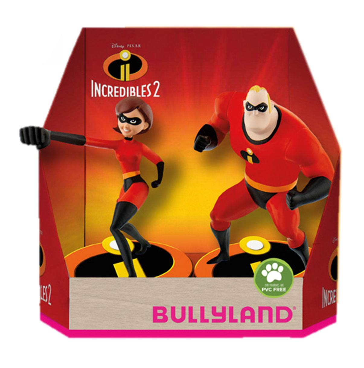 Incredibles 2 Gift Box with 2 Figures Hellen & Bob 9 cm