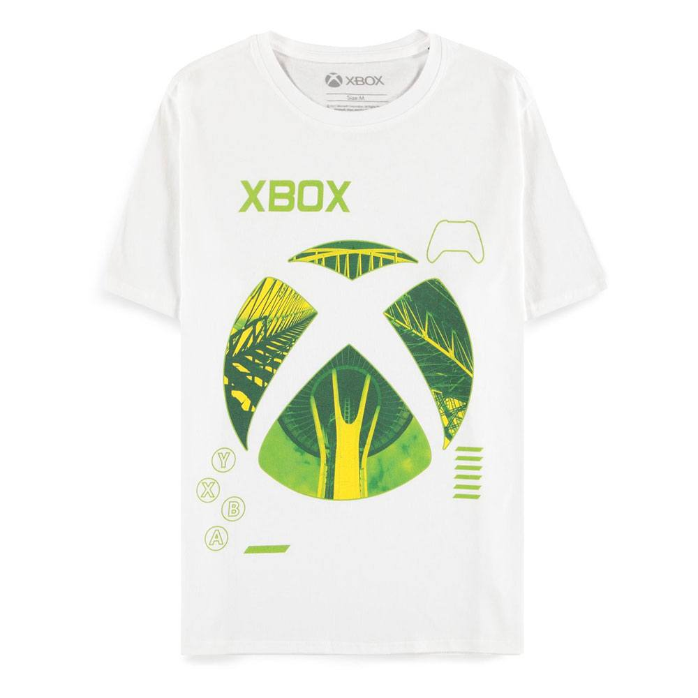 Microsoft Xbox T-Shirt Classic Silhouetted Icons Size L