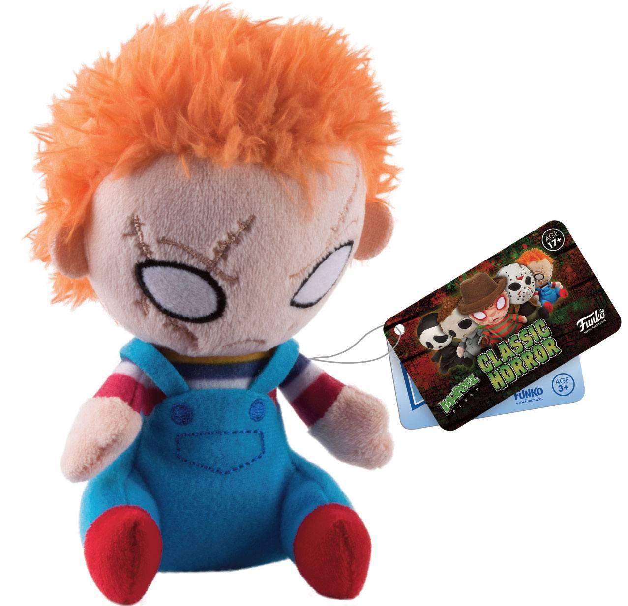 Child´s Play Horror Classics Mopeez Plush Figure Chucky 12 cm