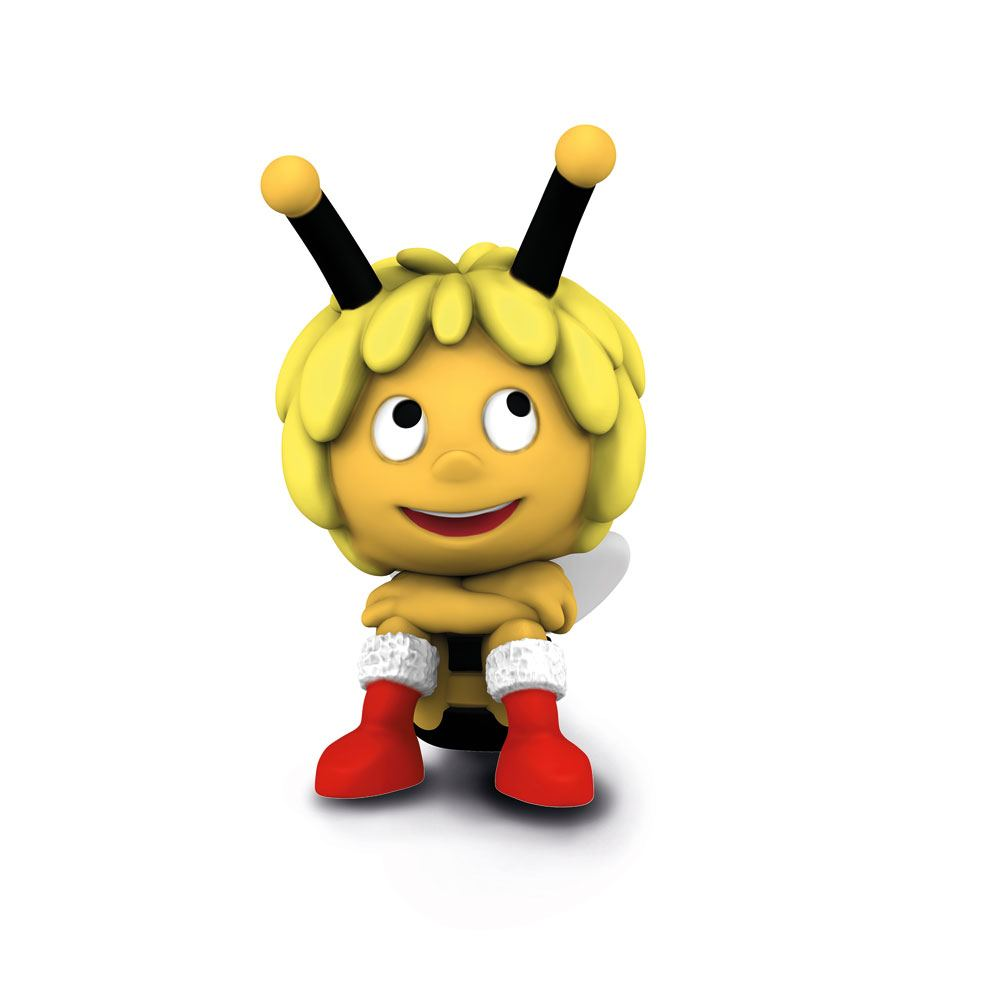 Maya the Bee Figure Maya the Bee with Christmas Boots 5 cm