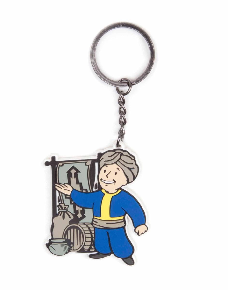 Fallout 4 Rubber Keychain Merchant
