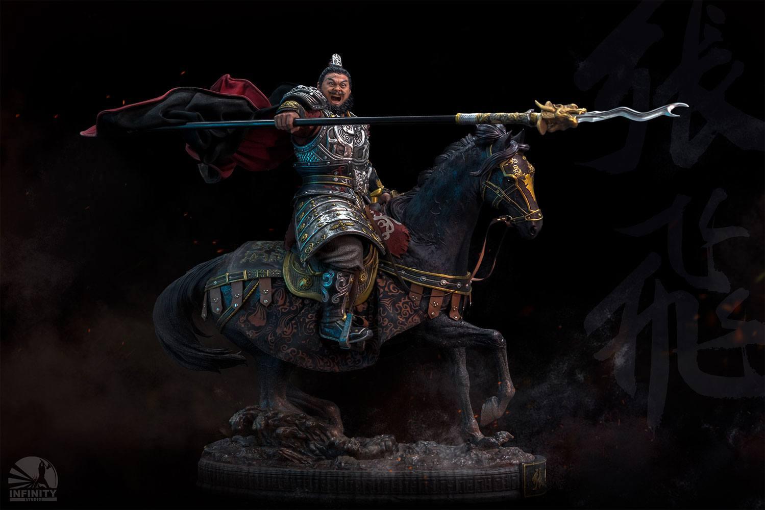 Three Kingdoms Statue Zhang Fei 70 cm
