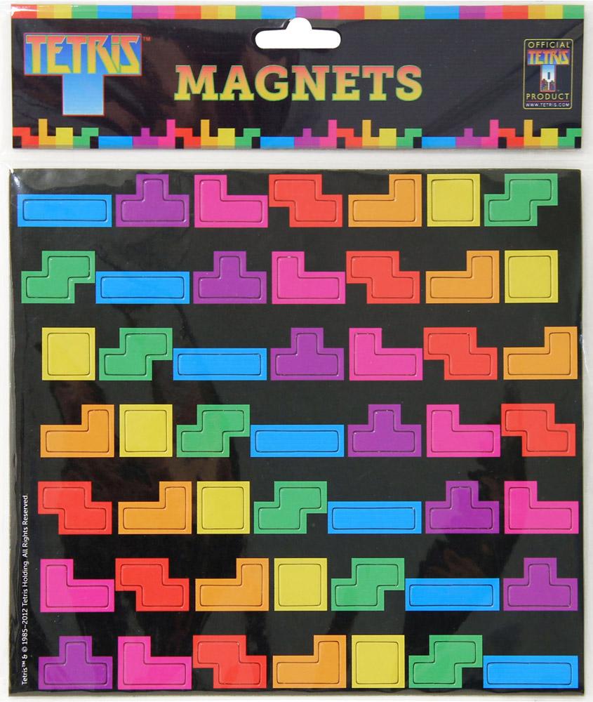 Tetris Fridge Magnets