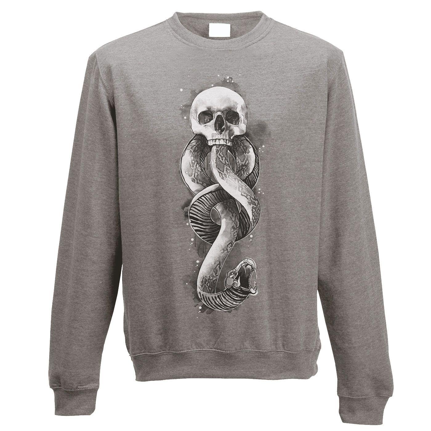 Harry Potter Sweatshirt Dark Art Snake Size XL