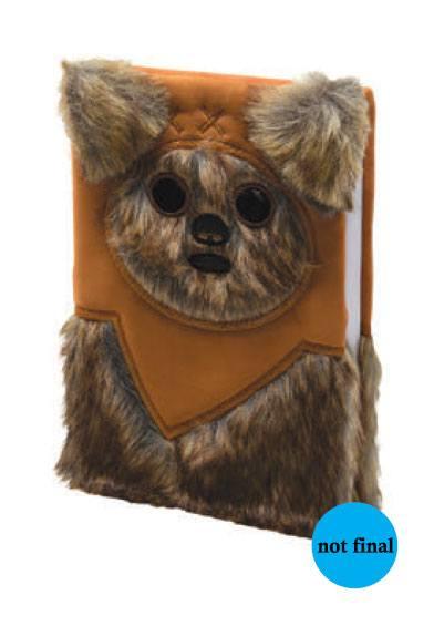 Star Wars Premium Notebook A5 Ewok (Fluffy)