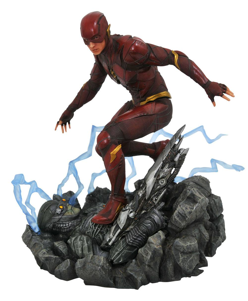 Justice League Movie DC Gallery PVC Statue The Flash 23 cm --- DAMAGED PACKAGING