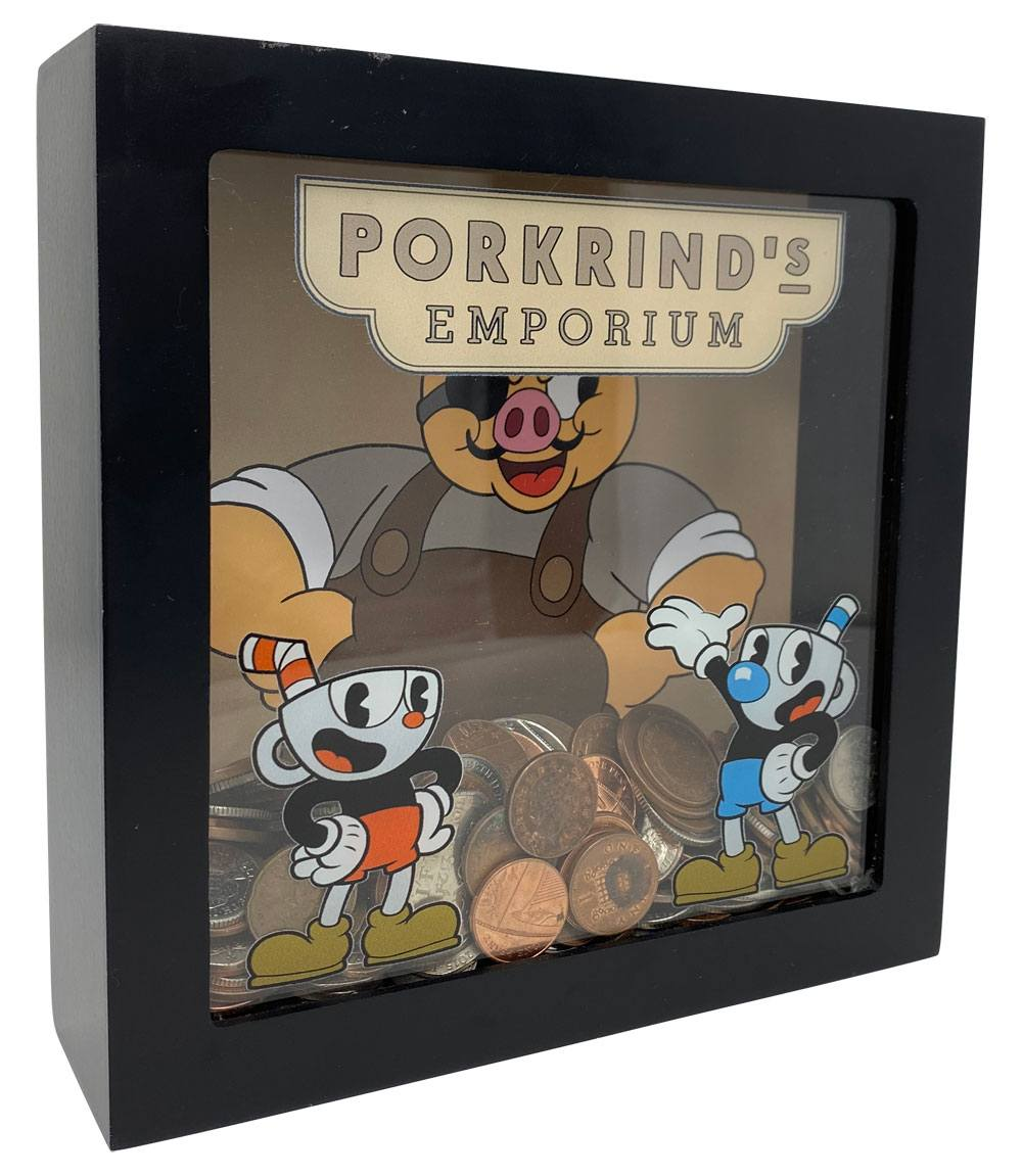 Cuphead Money Bank Porkrinds Emporium 20 cm