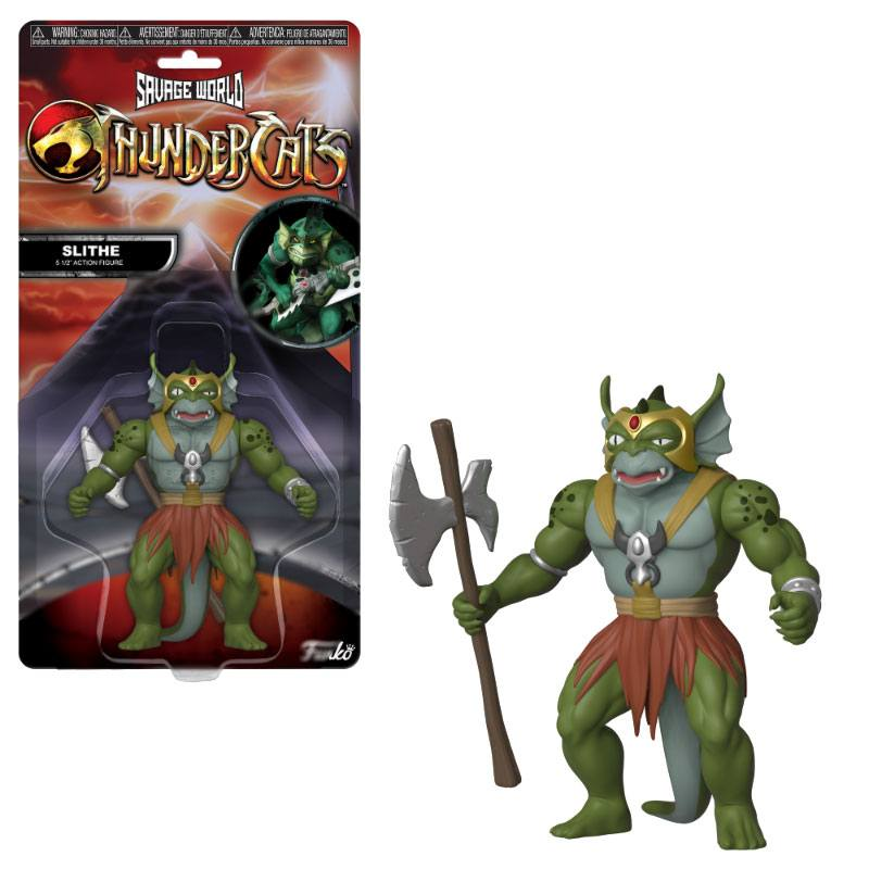 Thundercats Savage World Action Figure Slithe 10 cm