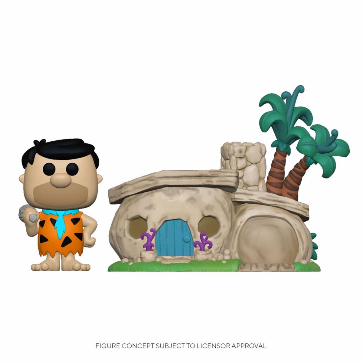 The Flintstones POP! Town Vinyl Figure Flintstone's Home 9 cm