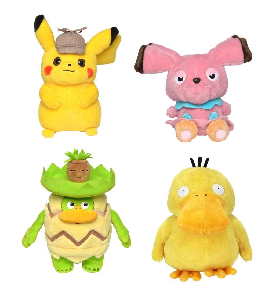 Pokémon: Detective Pikachu Plush Figures 20 cm Display (6)