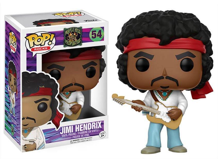 Jimi Hendrix POP! Rocks Vinyl Figure Jimi 9 cm