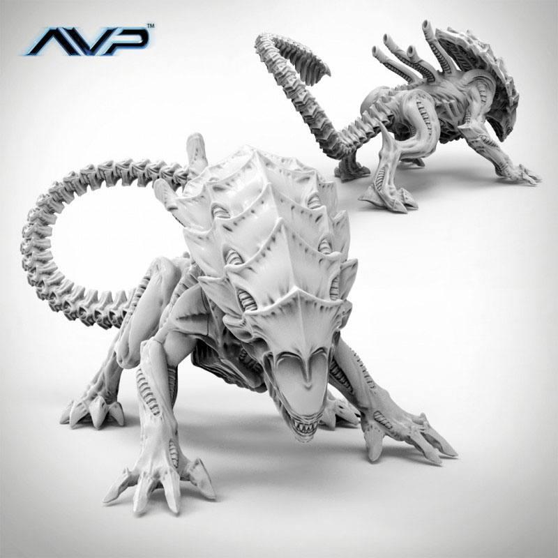 AvP Tabletop Game The Hunt Begins Expansion Pack Alien Crusher