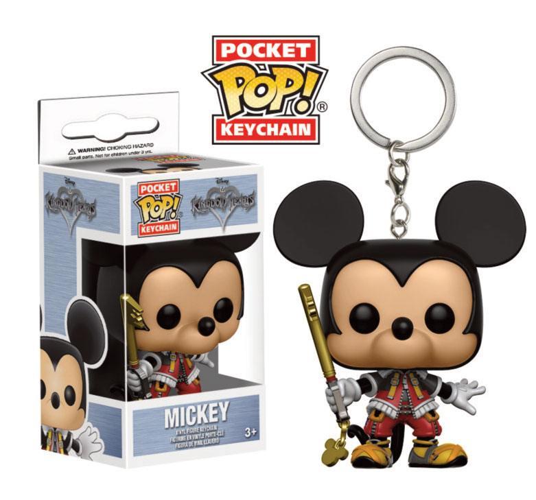 Kingdom Hearts Pocket POP! Vinyl Keychain Mickey 4 cm