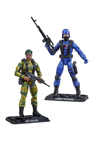 G.I. Joe Retro Collection Series Action Figures 10 cm 2021 Wave 2 Assortment (6) --- DAMAGED PACKAGING