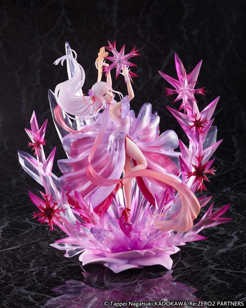Re: Zero Starting Life in Another World Statue 1/7 Emilia Crystal Dress Ver. 35 cm