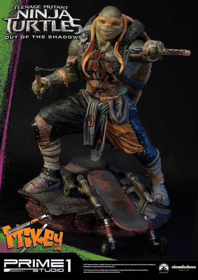 Teenage Mutant Ninja Turtles Out of the Shadows 1/4 Statue Michelangelo 43 cm