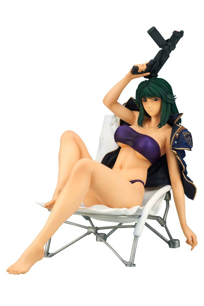 Silent Möbius PVC Statue 1/7 Kiddie Phenyl Swimsuit Under Jacket Ver. 18 cm