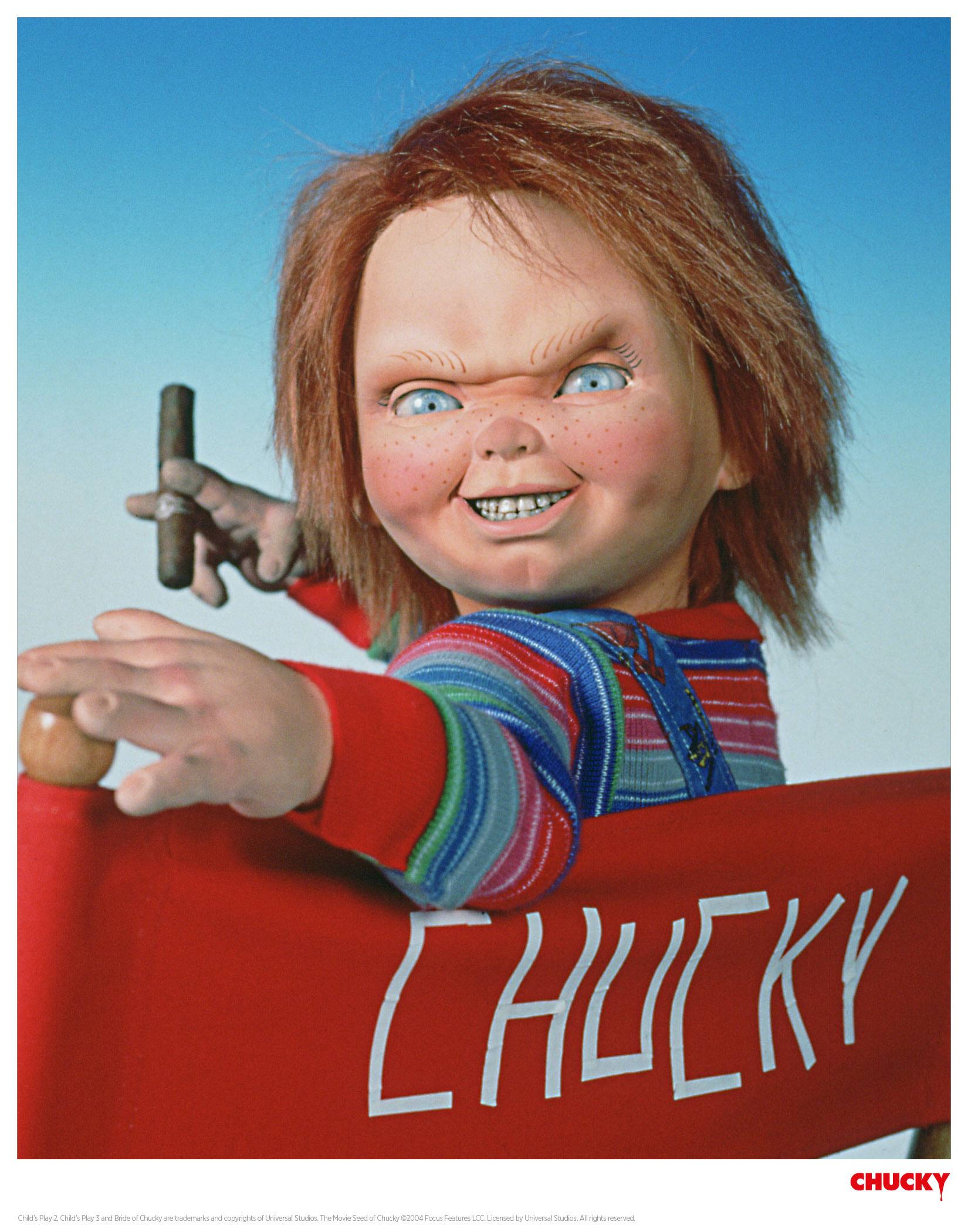 Child´s Play Art Print Director Chucky 35 x 28 cm