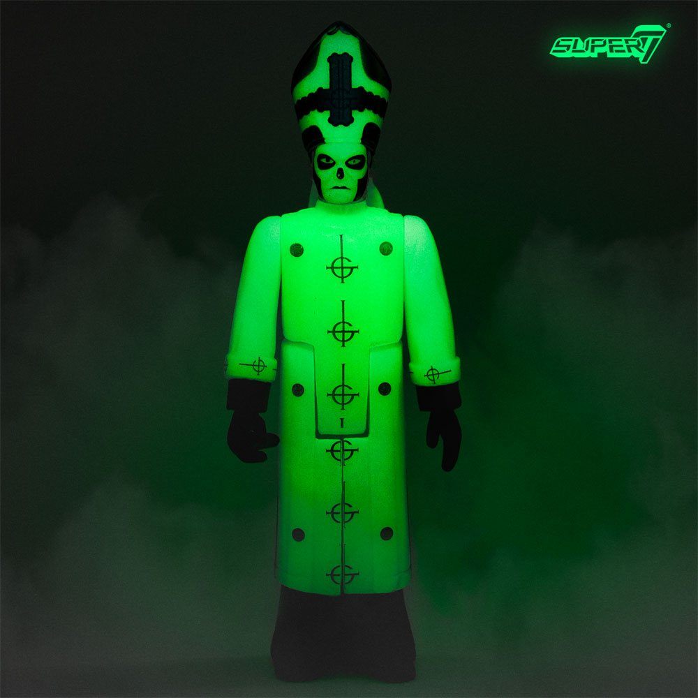 Ghost ReAction Action Figure Papa Emeritus III Glow in the Dark 10 cm