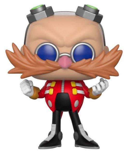 Sonic The Hedgehog POP! Games Vinyl Figure Dr. Eggman 9 cm