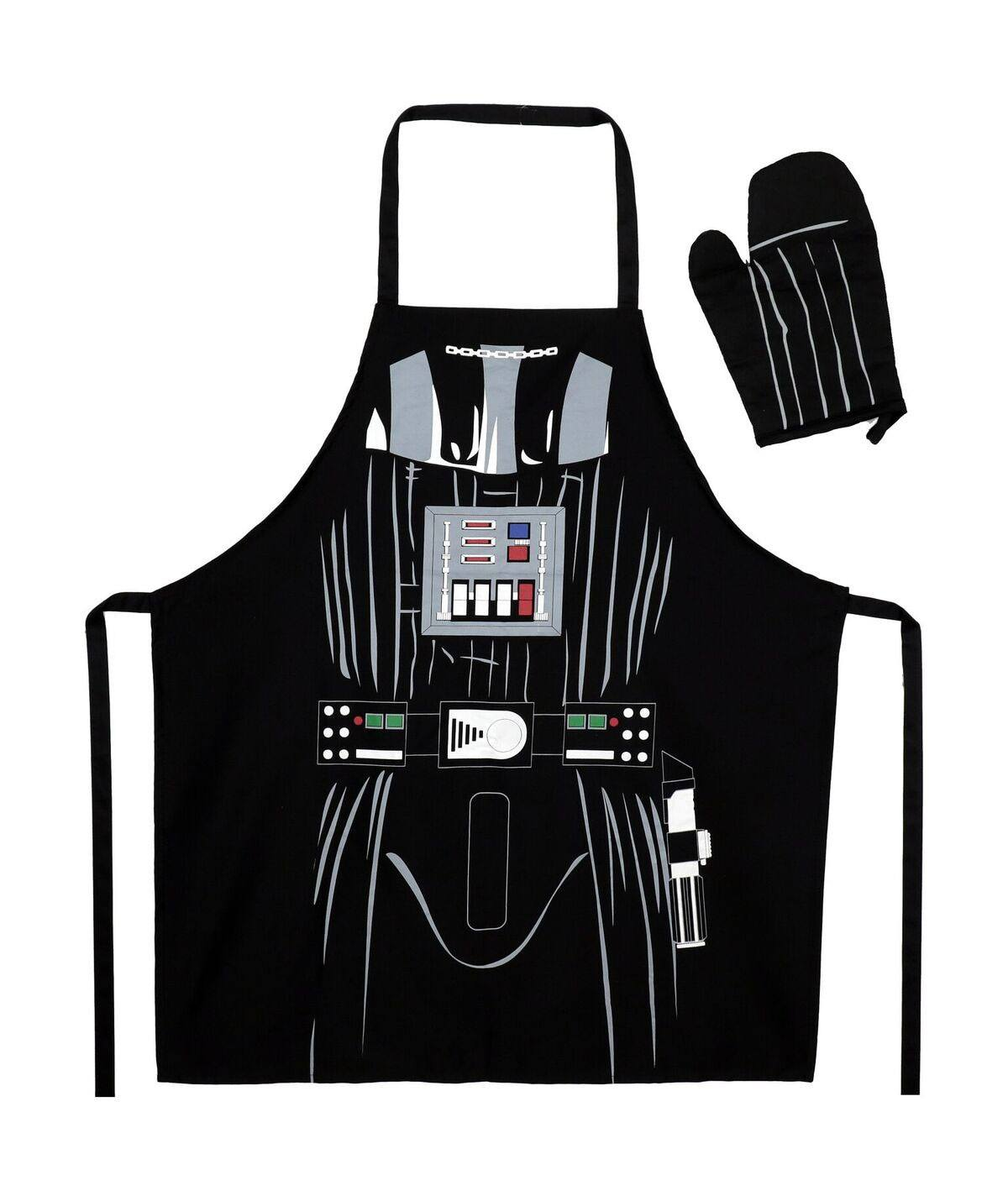 Star Wars cooking apron with oven mitt Darth Vader