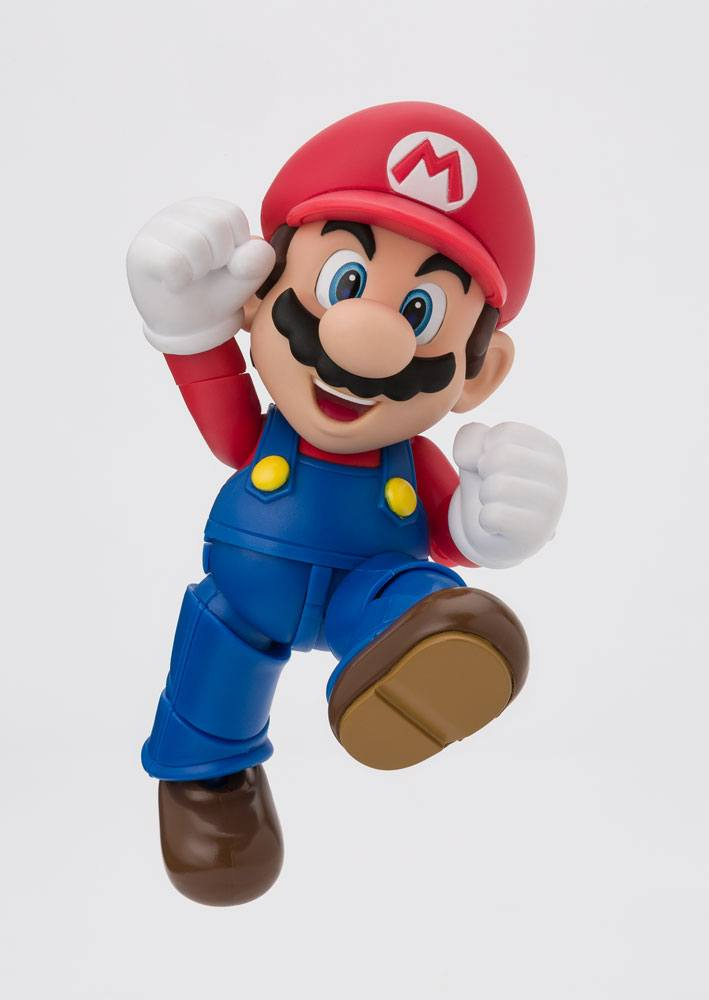 Super Mario Bros. S.H. Figuarts Action Figure Mario New Package Ver. 10 cm