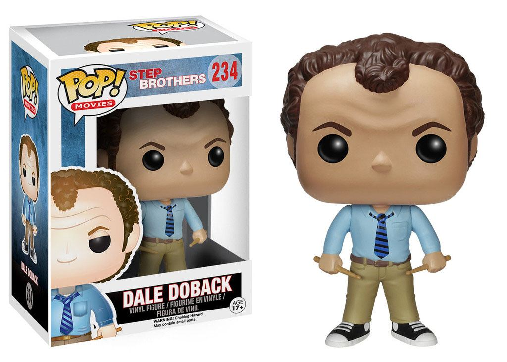 Step Brothers POP! Movies Vinyl Figure Dale Doback 9 cm