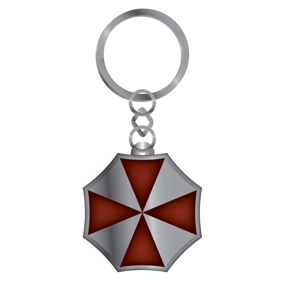 Resident Evil Metal Keychain Umbrella Corp 7 cm