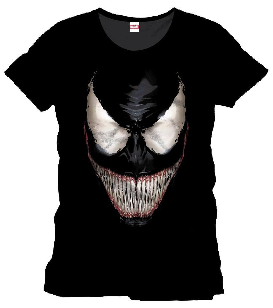 Spider-Man T-Shirt Venom Smile Size M