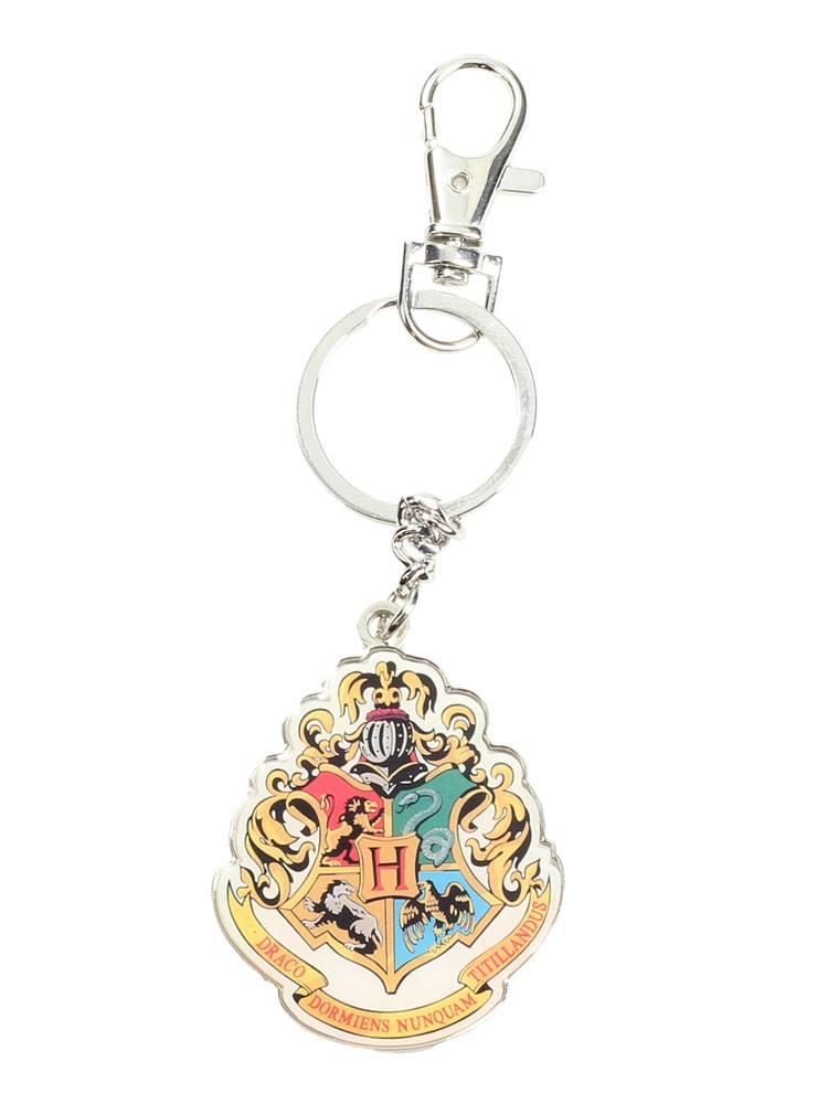 Harry Potter Metal Keychain Hogwarts