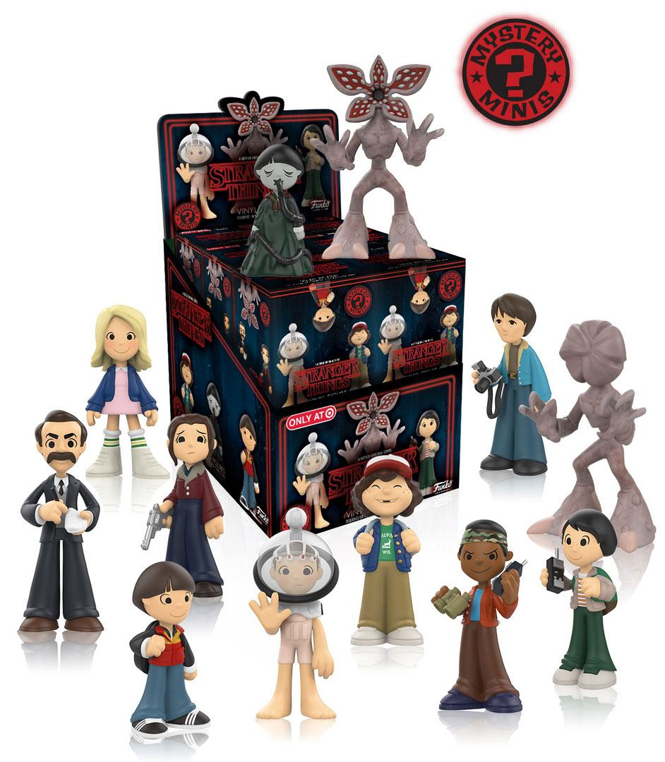 Stranger Things Mystery Minis Vinyl Mini Figures 6 cm Display Series 1 (12)