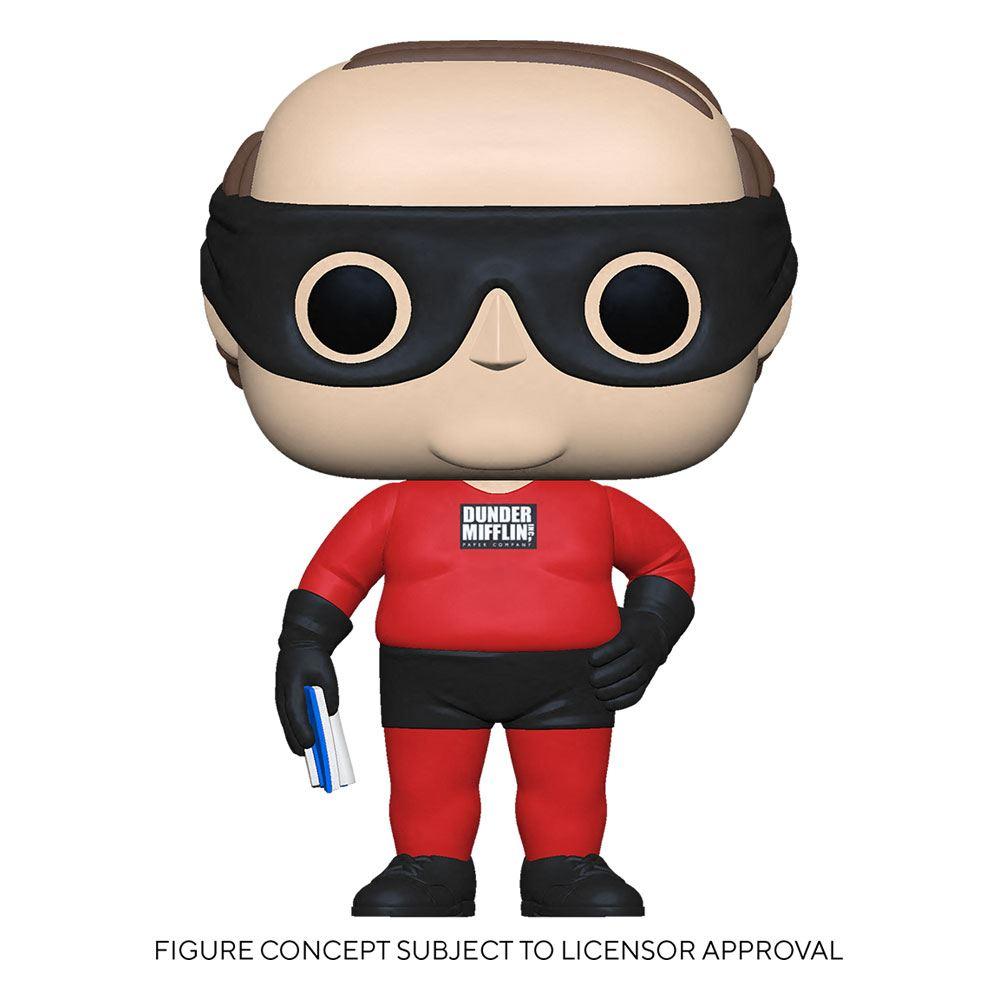 The Office US POP! TV Vinyl Figure Kevin as Dunder Mifflin Superhero 9 cm