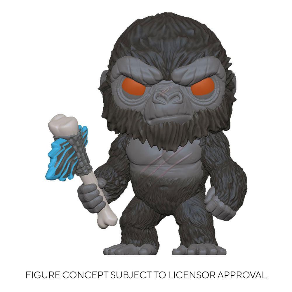 Godzilla Vs Kong POP! Movies Vinyl Figure King Kong with Axe 9 cm