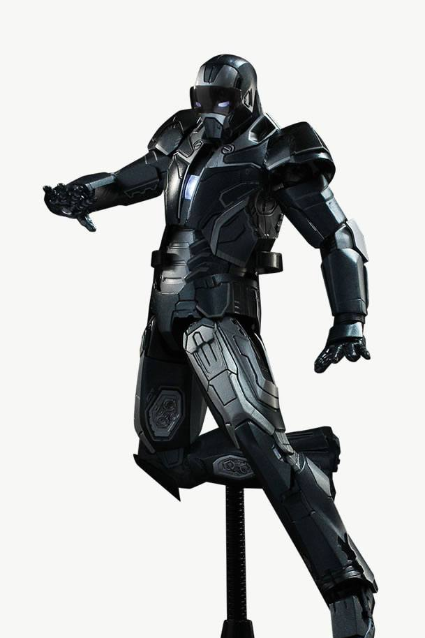 Avengers Age of Ultron Diecast Action Figure 1/12 Mark 40 Shotgun 20 cm