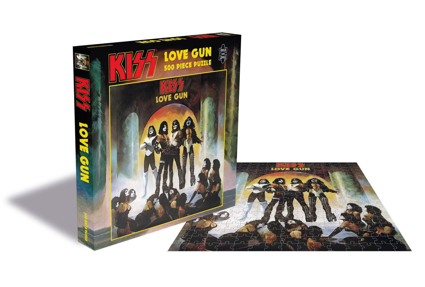 Kiss Puzzle Love Gun