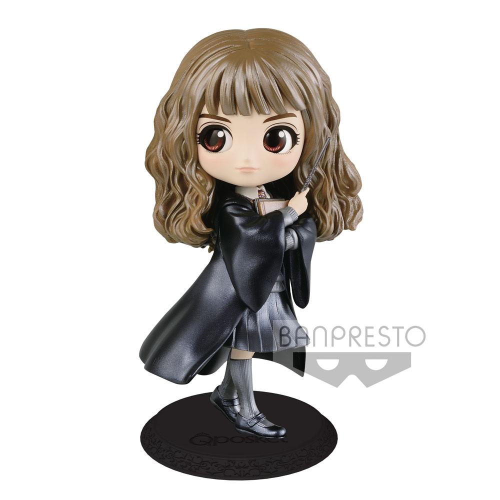 Harry Potter Q Posket Mini Figure Hermione Granger B Pearl Color Version 14 cm