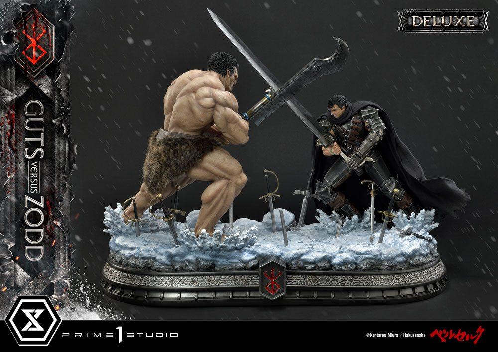 Berserk Statues 1/6 Guts Versus Zodd & Guts Versus Zodd Deluxe 51 cm Assortment (3)