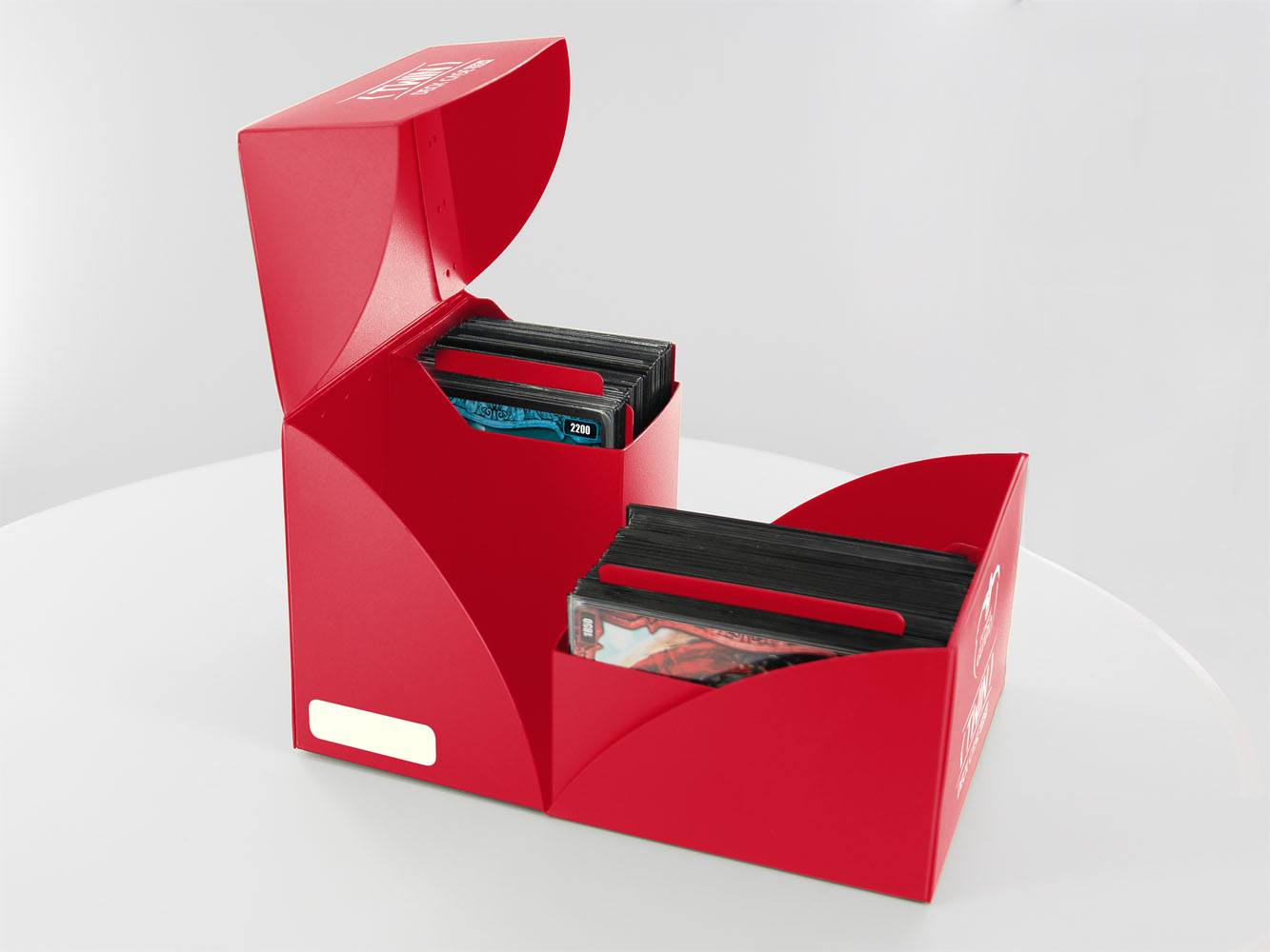 Ultimate Guard Twin Deck Case 160+ Standard Size Red