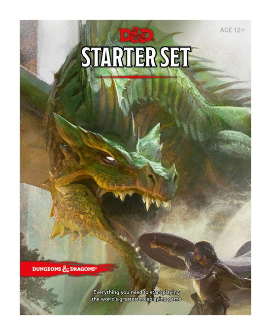 Dungeons & Dragons RPG Starter Set english