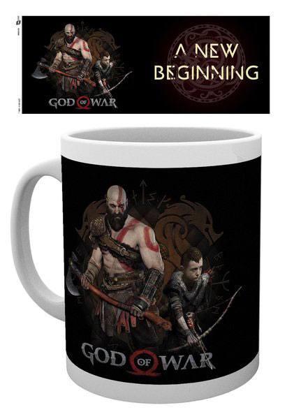 God of War Mug New Beginning